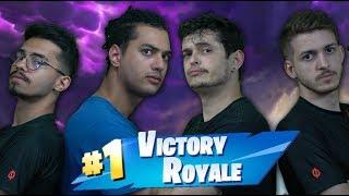GANHANDO DE PICARETA COM OS THEBØYS - [ ZOTIEBOY E BARBOYSA ] - Fortnite: Battle Royale !!