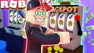 WE BUILD YOUR OWN CASINO IN ROBLOX! (Roblox Casino Tycoon) Vito and Bella