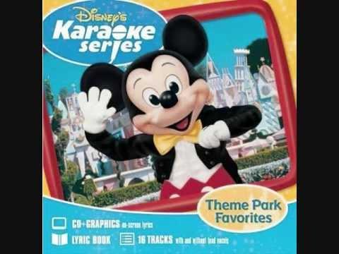 Disney - Remember When [Karaoke/Instrumental] with lyrics