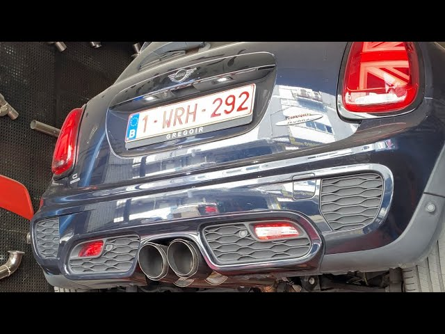 MİNİ F56 JCW 2.0 306 HP KUMANDALI PERFORMANS EGZOZ SESİ