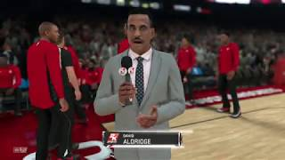 NBA 2K18 : Thunder vs Rockets