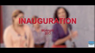 WORKINGIRLS 2012 N°3 Inauguration (Claude Perron, Laurence Arné, Vanessa David, Blanche Gardin)
