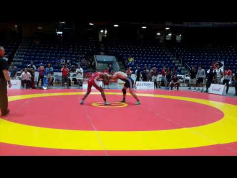 2016 Canada Cup: 65 kg Dillon Williams (CAN) vs. Michael Asselstine (CAN)