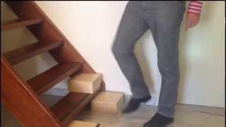 Trapliften?  Vrij bewegen in huis met Easysteppers op de trap (tussentreden)