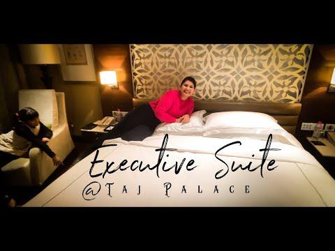 Room Tour of Taj New Delhi II Executive Suite II Taj Palace Delhi 01