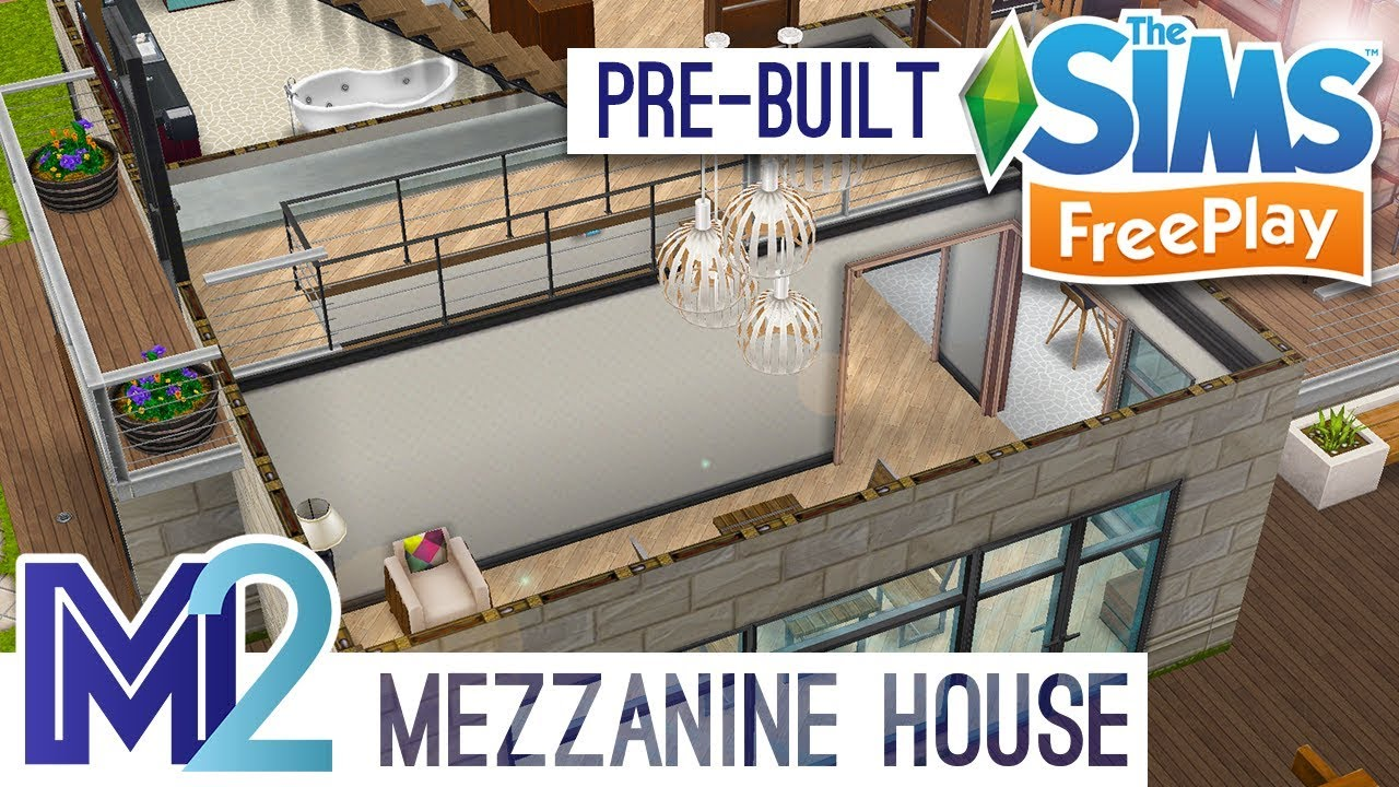 Sims FreePlay   Mezzanine House Template (Early Access Preview)
