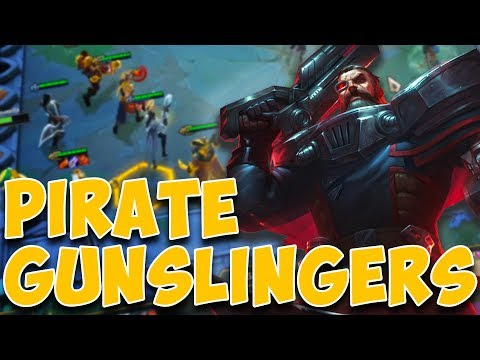 A Video Where I Play Pirates In League Of Legend's New Game Mode Teamfight Tactics