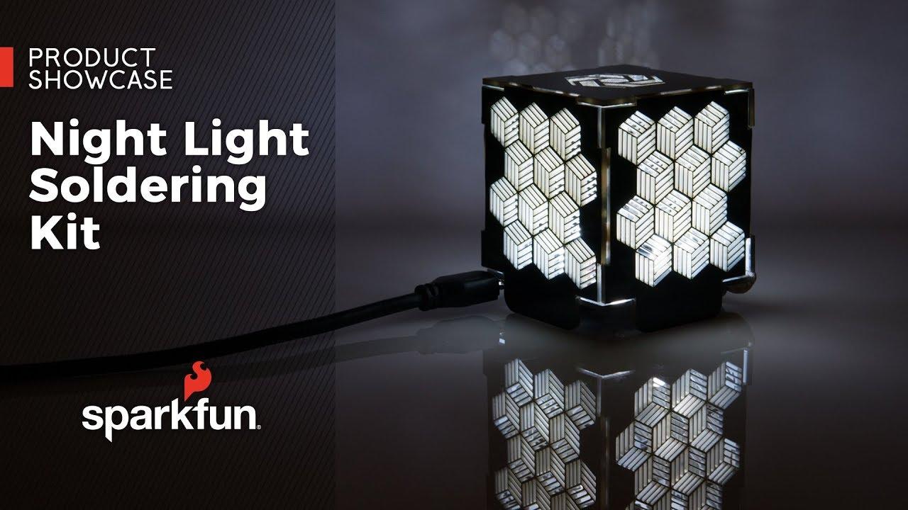 14638 Electronics Light Kit Soldering Night Sparkfun j4L35AR