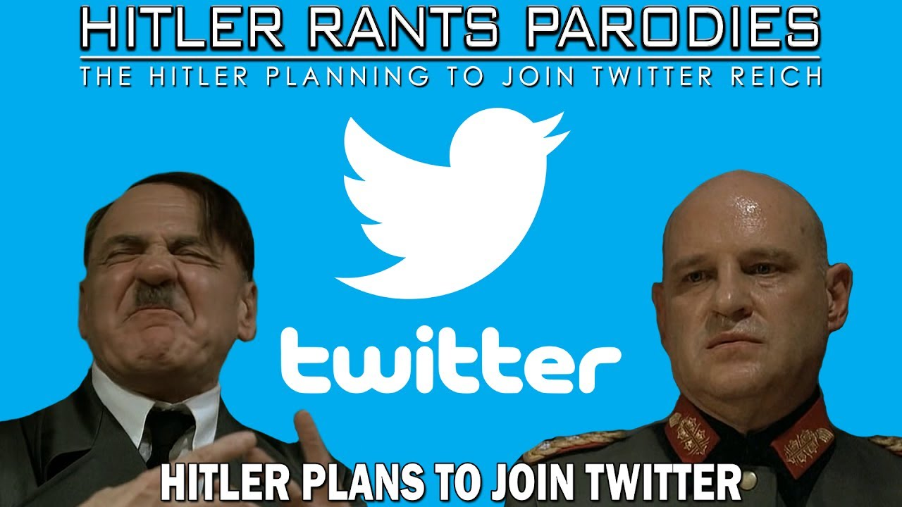 Hitler plans to join Twitter