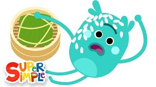 The Bumble Nums Make Tricky Sticky Rice Dumplings | Cartoons for Kids