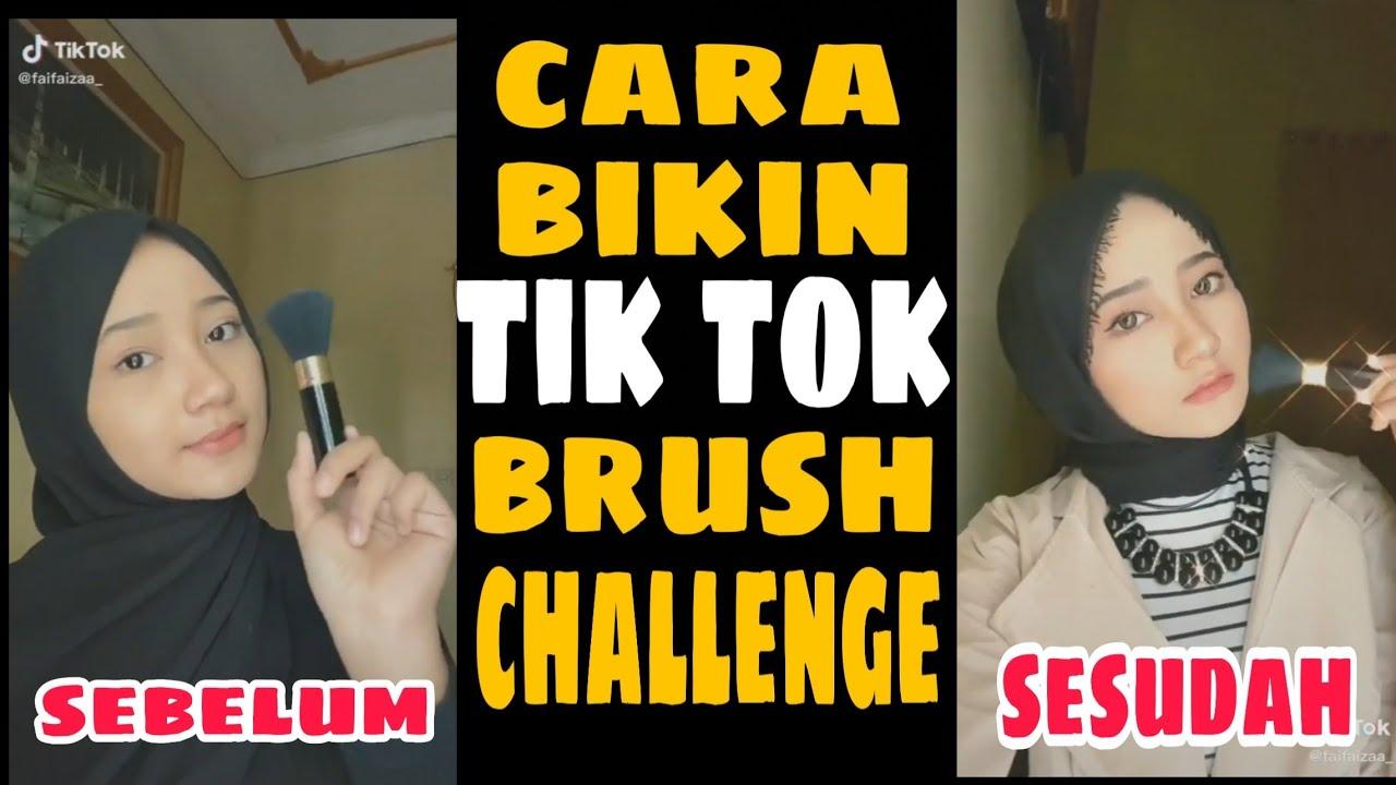 Tutorial Tik Tok Brush Challenge Youtube