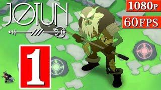 Jotun Gameplay Walkthrough - Part 1 The Barrow Mound 1080p 60FPS