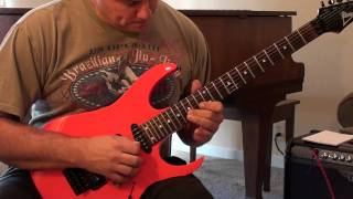 Journey - Stone in Love Guitar Solo