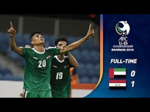 New! Iraq VS United Arab Emirates 1-0 Asian qualifiers World Cup Russia 2018