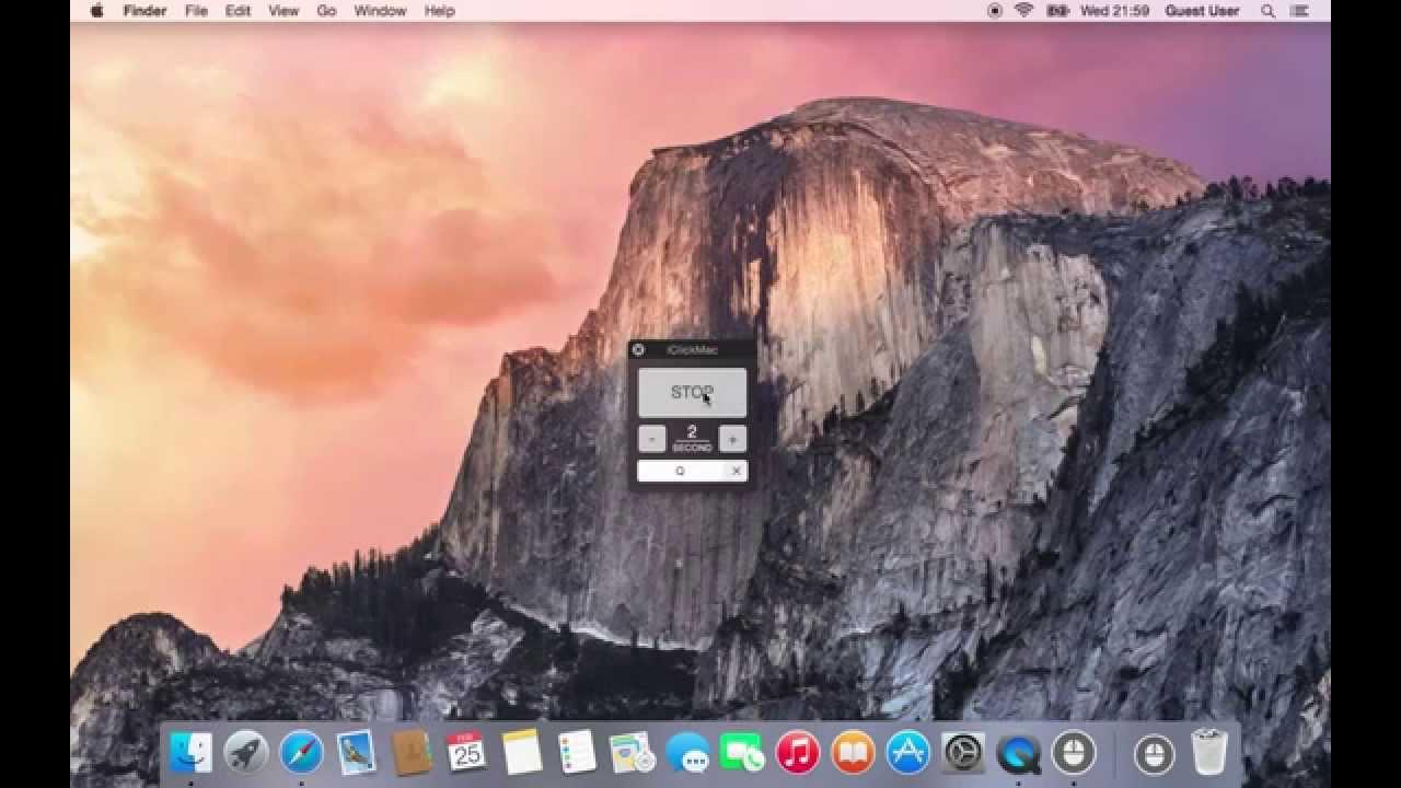iClickMac - Free Auto Clicker for Mac