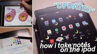 How I take notes on the iPad - GoodNotes 5 & Notability - FREE paper template downloads!