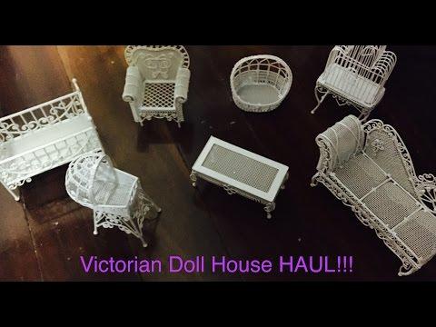 Victorian Doll House Furniture Haul