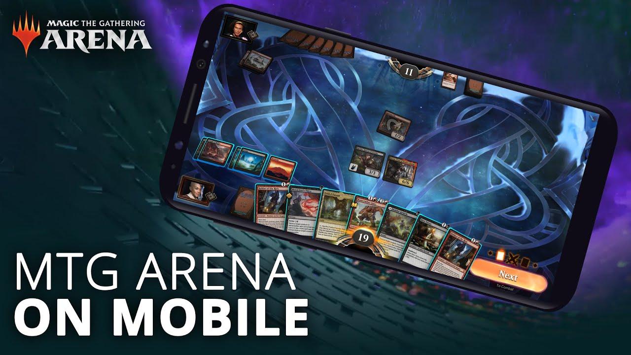MTG Arena on Mobile - YouTube
