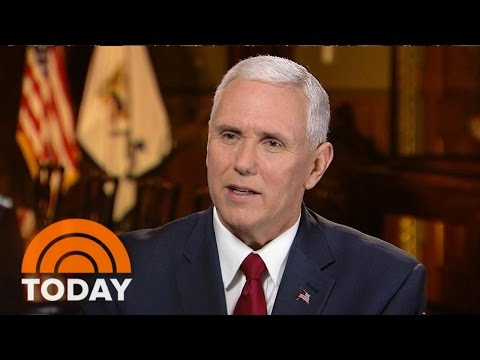 Mike Pence: The Donald Trump I Saw Last Night Is The One I've Seen All Along | TODAY