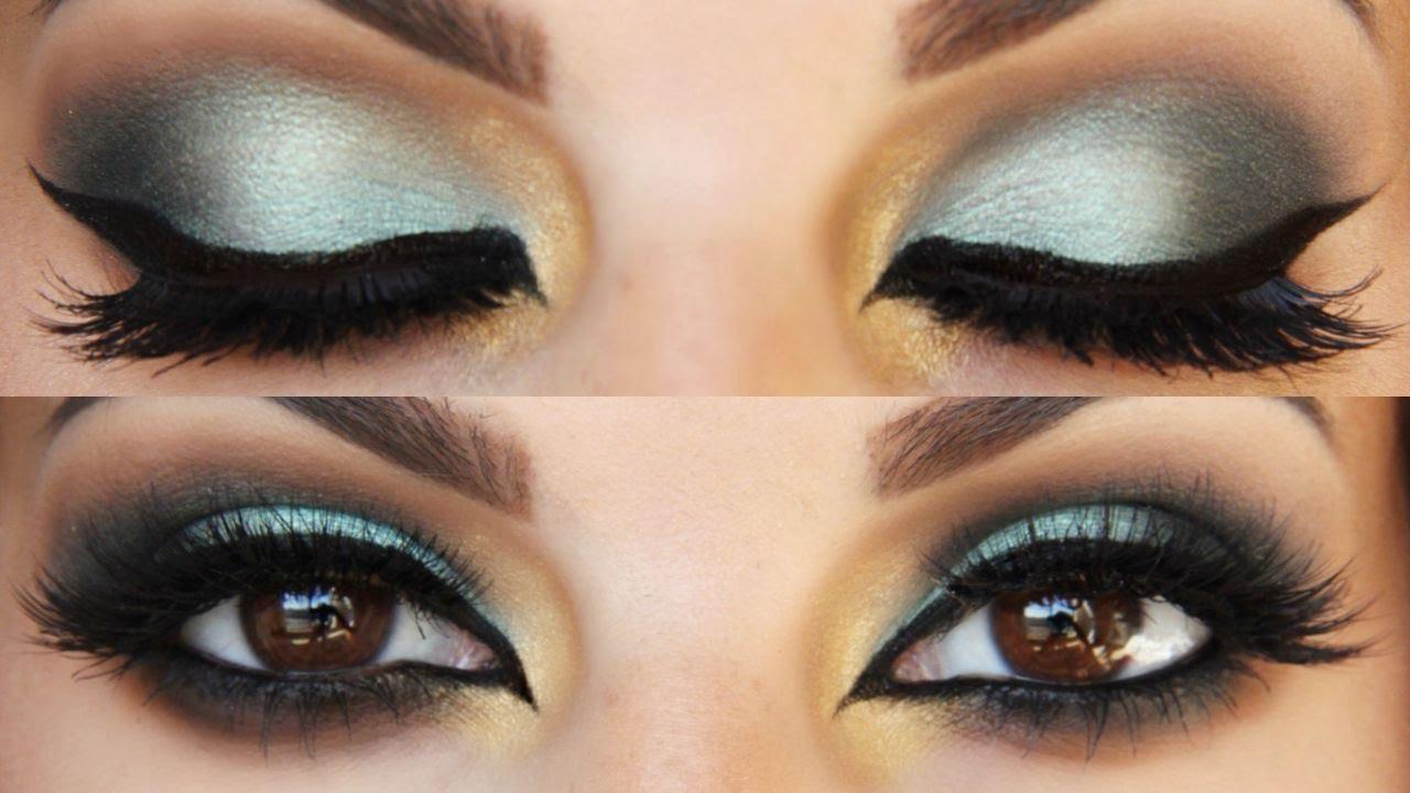 Arabian Style Makeup Tutorial - YouTube