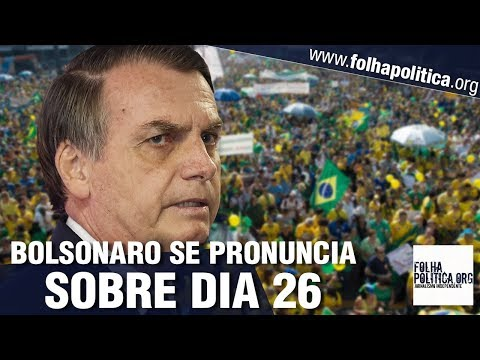 Bolsonaro volta a confrontar grupos corporativistas e se pronuncia sobre protesto do dia 26