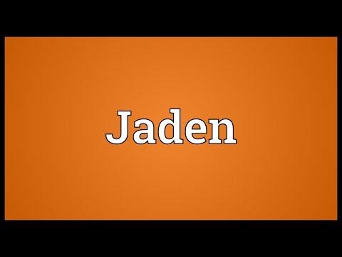 Jaden Meaning