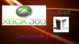 Tutorial de como descargar y usar Iso2God para juegos Xbox360/
