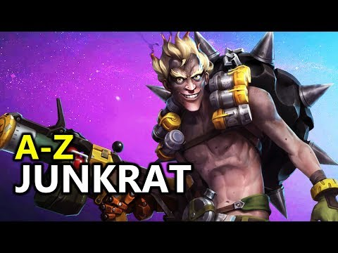 ♥ A - Z Junkrat - Heroes of the Storm (HotS Gameplay)