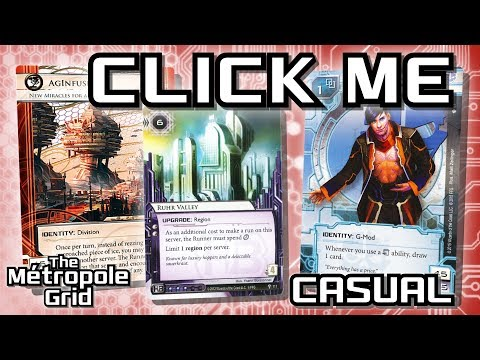 Android: Netrunner // Click Me AgInfusion vs. Geist - Casual