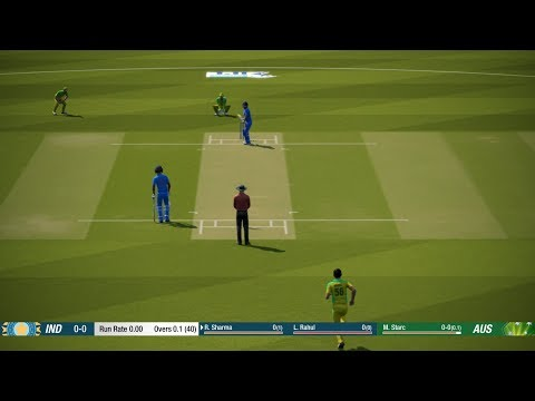 IND vs AUS LIVE CRICKET || 1st ONEDAY ||CRICKET 19 GAMEPLAY || INDIA vs AUSTRALIA || LIVE CRICKET 19