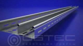 OSTEC Монтаж перегородки ПЛПТ к лотку(