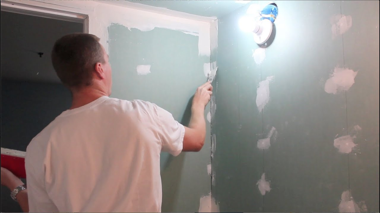 How to putty drywall walls 93