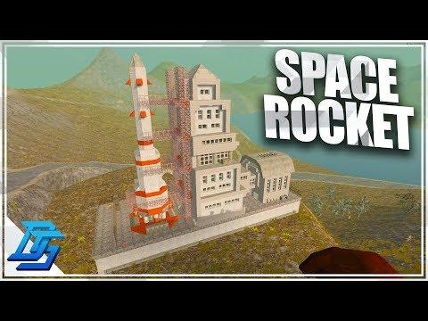 SPACE ROCKET SITE, HUB CITY!- 7 Days to Die (Modded) -WotW -Part 27