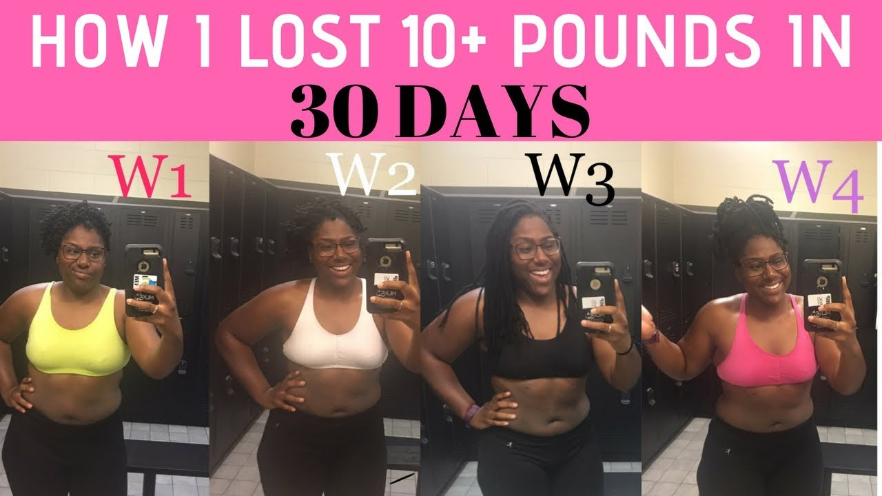 How to lose 10 pounds in 1 Month | 16-8 Intermittent ...