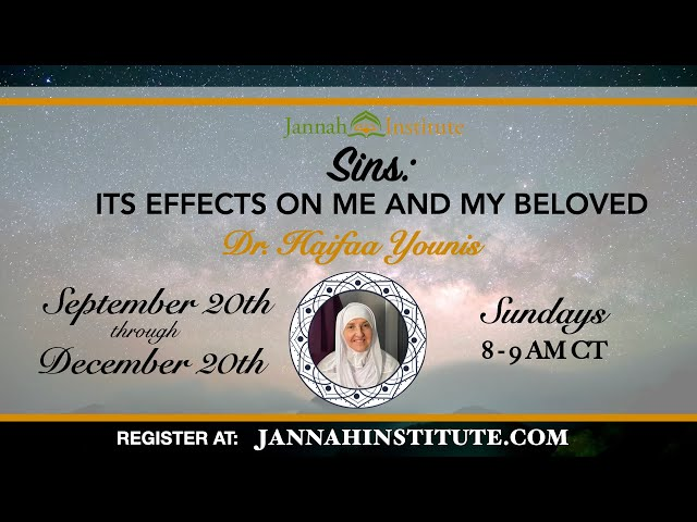 Sins: Its Effects on Me and My Beloved