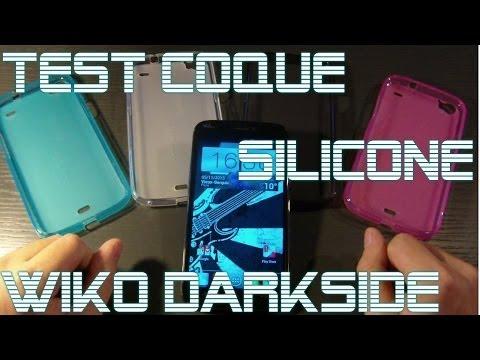 Wiko Darkside - Test de la Coque Silicone en 4 Coloris de ProtectEcran.com