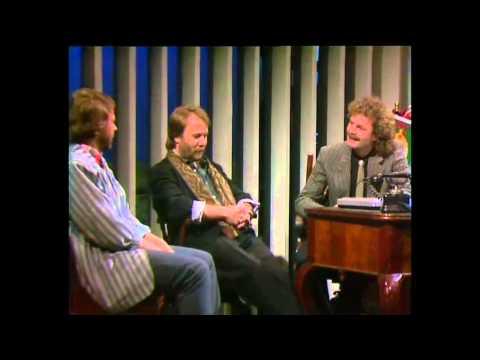 Björn & Benny (ABBA / Chess) on Danish TV...