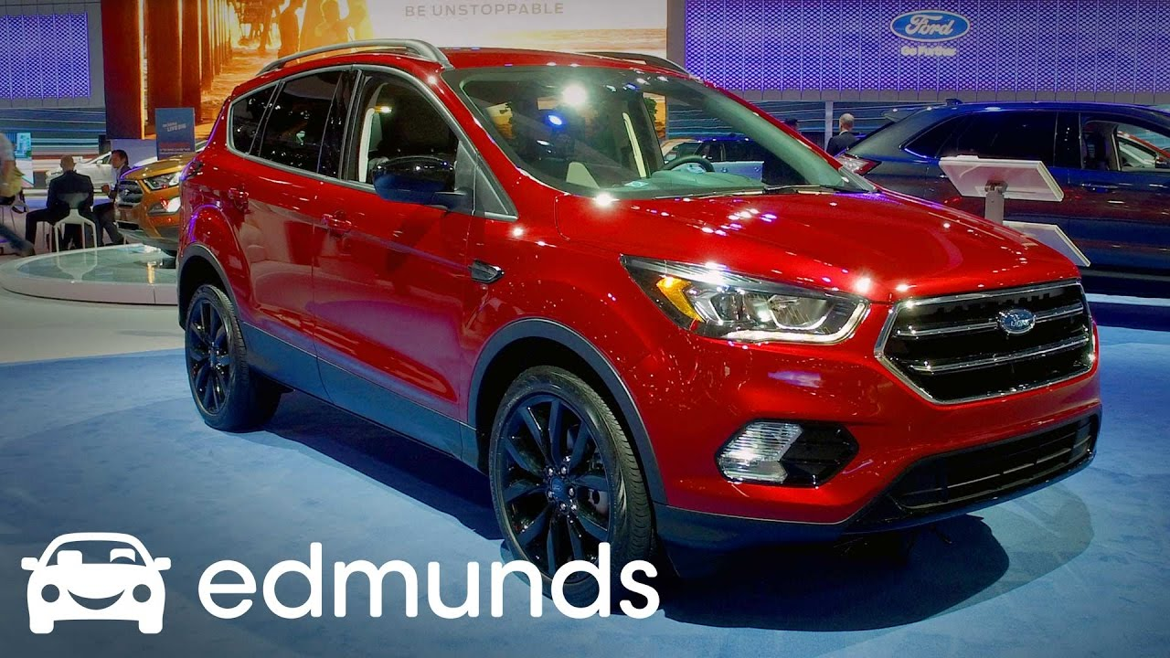2017 Ford Escape Review Features Rundown Edmunds