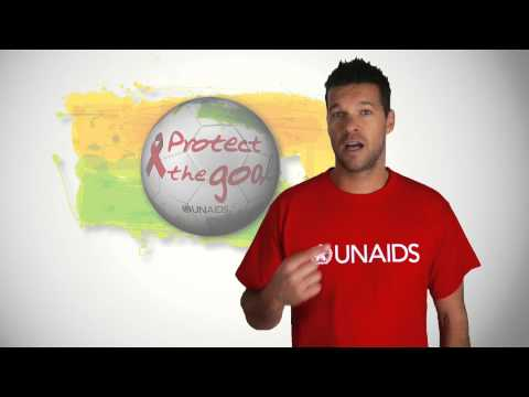 Michael Ballack asks football fans to commit to HIV prevention