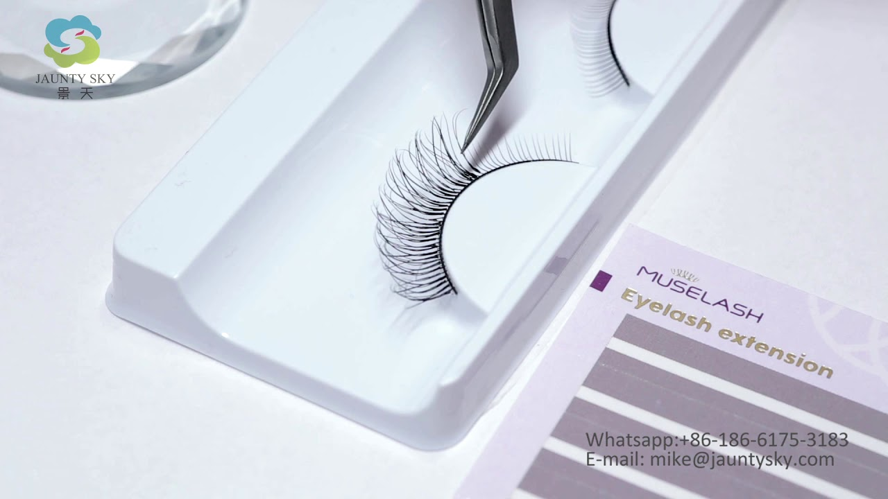 Self Blooming Eyelash extension Manufacturing by Jaunty Sky