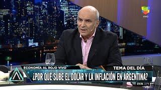 """José Luis Espert: """"Venta de dólares del banco Central"""", en"""