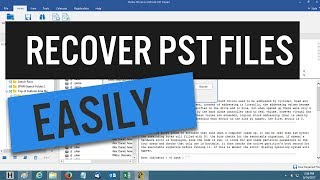 How To Repair ScanPST Exe In Outlook 2010 - Easy PST Recovery
