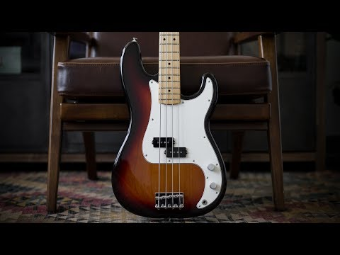 Fender Player Series Precision Bass - Demo and Features