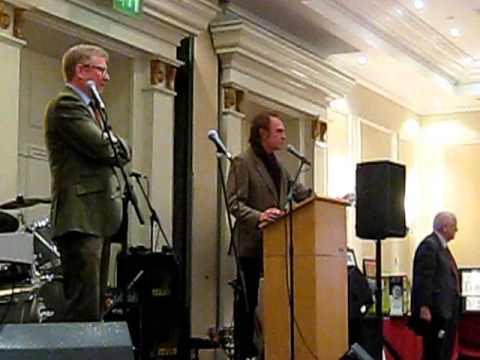 Ray Davies speaks at Pete Quaife Blue Plaque Gala