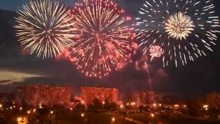 Международный фестиваль фейерверков Ростех 2016 в Братеево. Выступление Эстонии