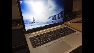 видео Ноутбук HP Elitebook 850 G5 (3JX21EA)