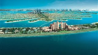 Monorail to Palm Jumeirah and The Lost Chambers Aquarium (17-01-2016)