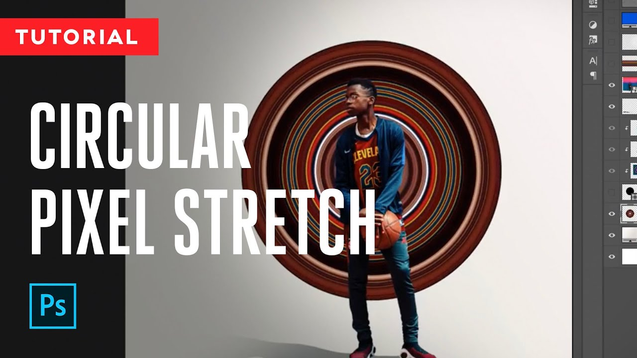 Circular Stretch Effect | Tutorial