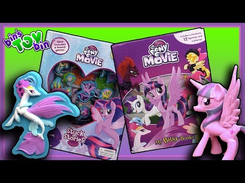 My Little Pony The Movie Busy Book & Stuck On Stories