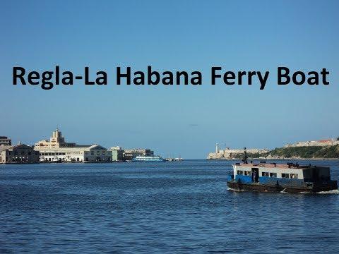 Ferry boat to Regla. Havana, Cuba. / La Lanchita de Regla.